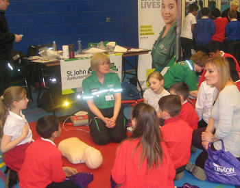 Local employers inspire and enthuse students in schools!