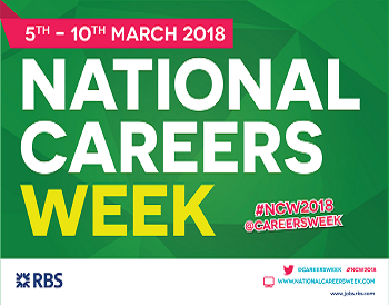 National Careers Week starts 5th March