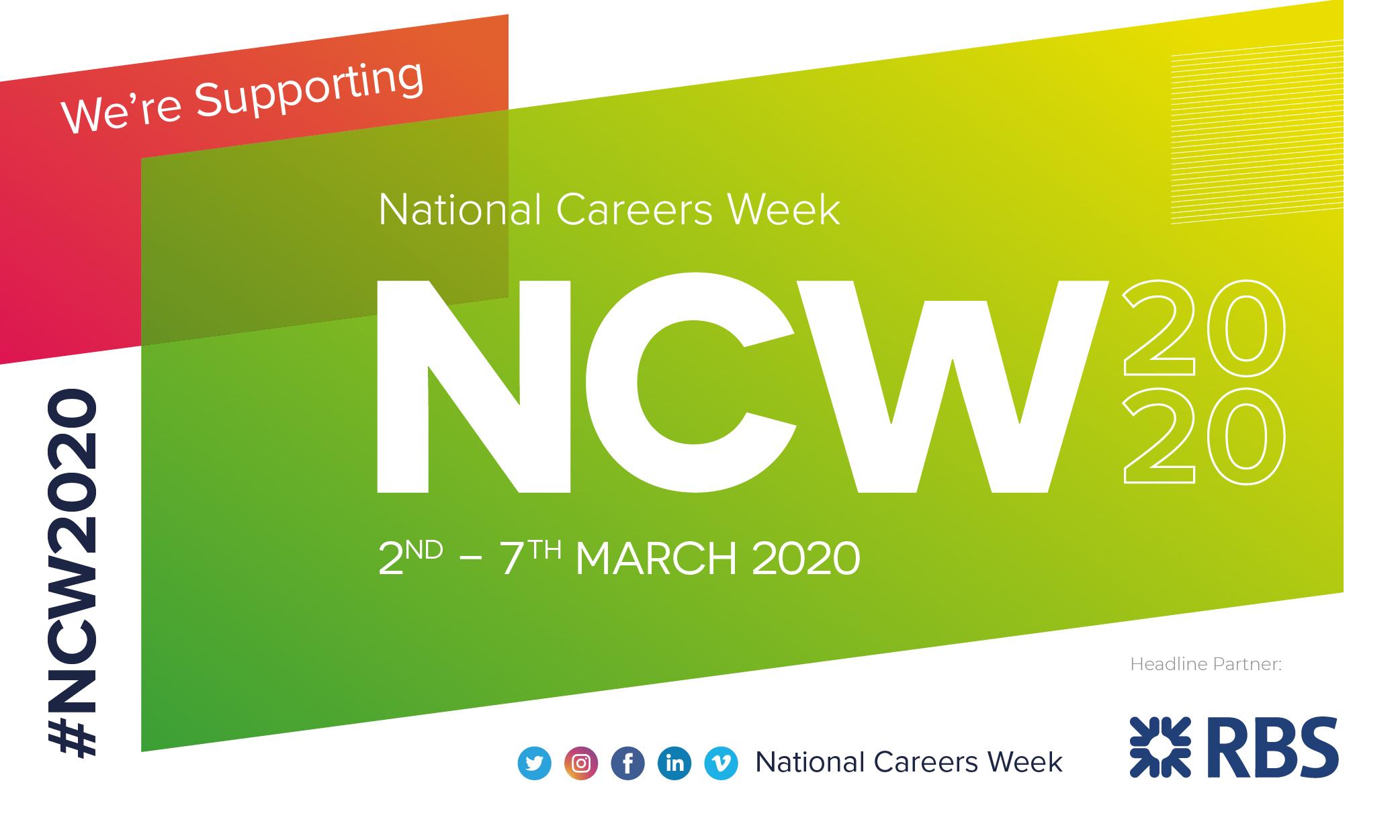 National Careers Week #NCW2020